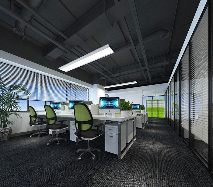 科技公司辦公室軟裝設計方案詳解