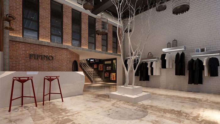 500平方LOFT風格辦公室裝修設計案例