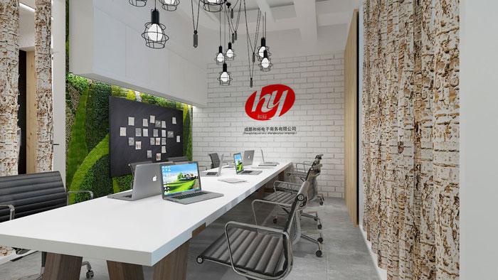 410平方中小型辦公室裝修設計案例