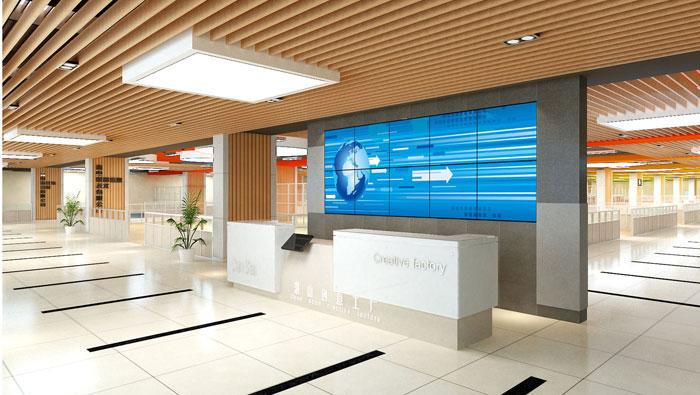 1500平方創意工廠辦公室裝修設計案例