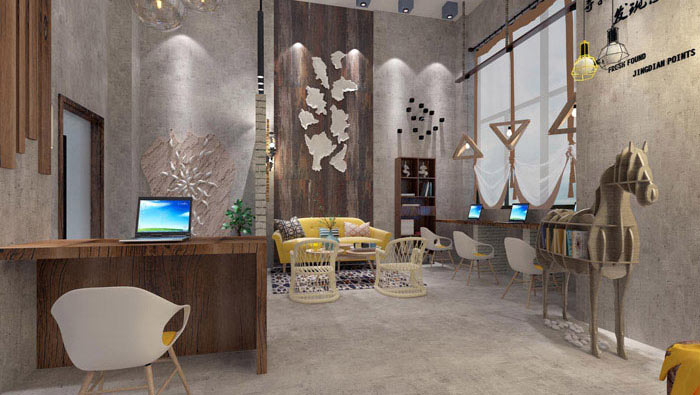 室內設計工作室裝修效果圖