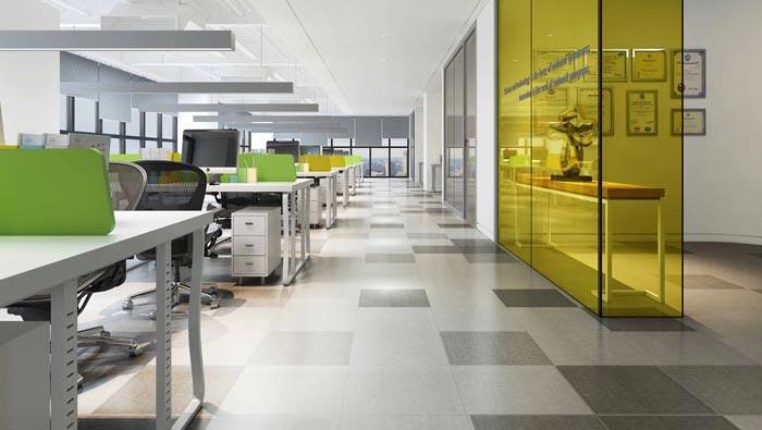 金融公司辦公室辦公室區域裝修設計案例