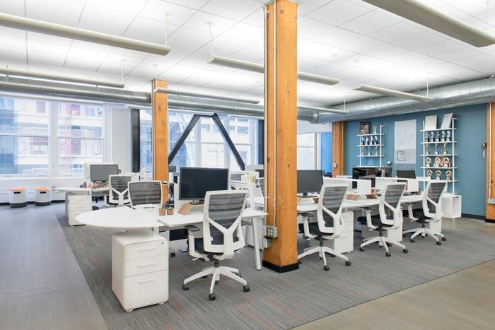 用戶體驗設計公司辦公室裝修設計案例