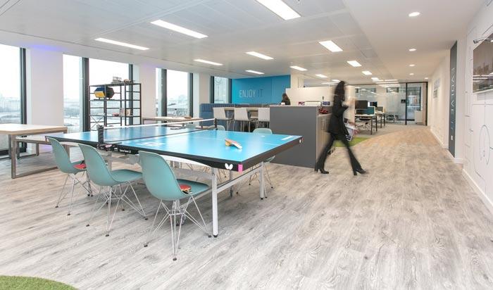 解決方案提供商辦公室裝修設計案例