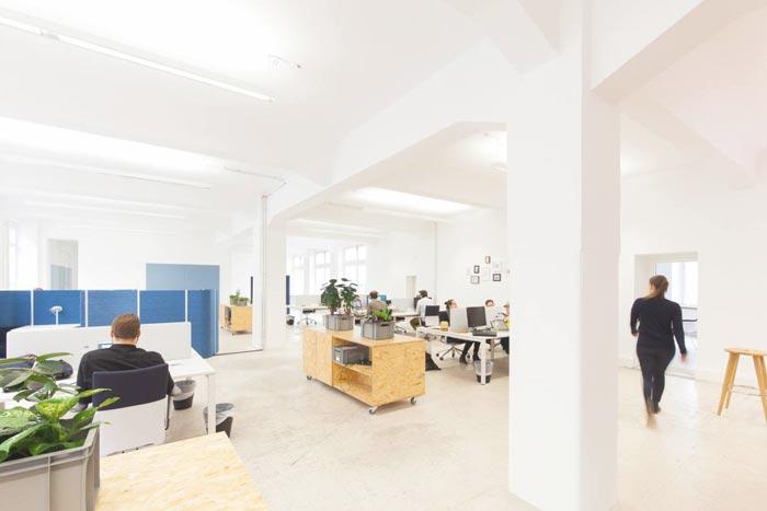 400平方營銷公司辦公室裝修實景圖