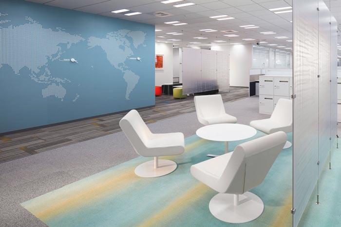 醫藥中心辦公室裝修設計案例