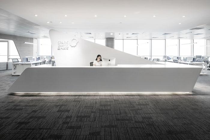 教育培訓機構辦公室裝修設計案例