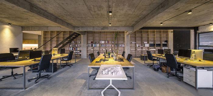 loft風格辦公室裝修設計案例