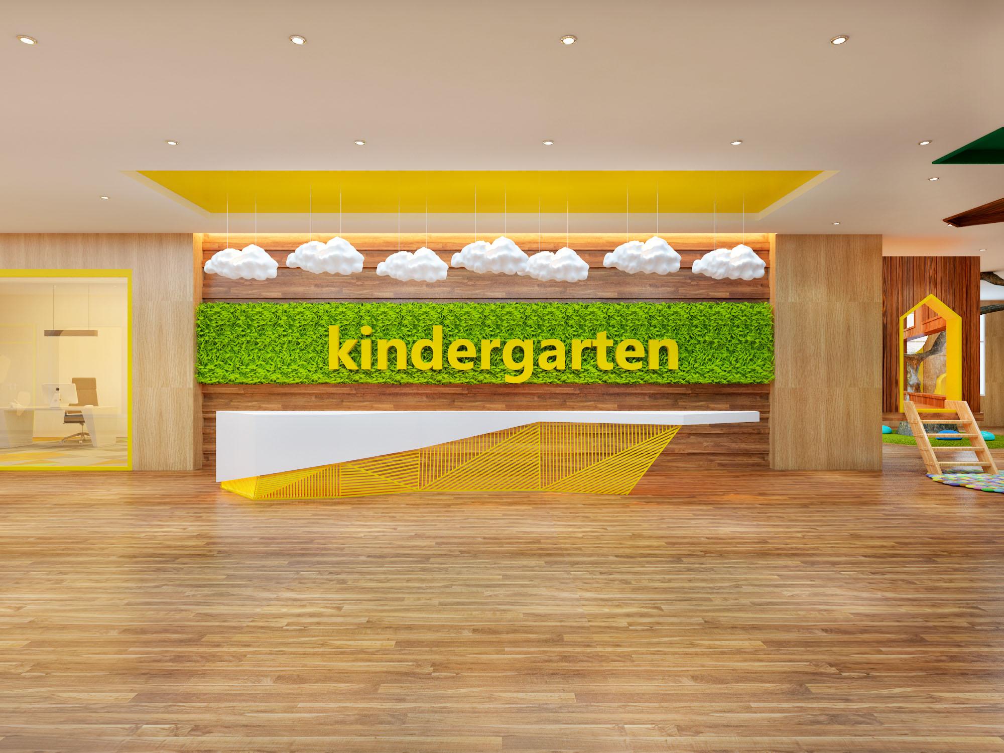 青島裝修公司之幼兒園室內裝修案例